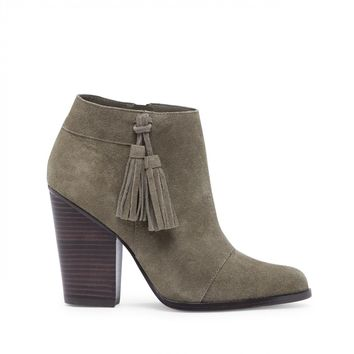 Sole Society Talisha Tassel Heeled Bootie