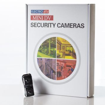 Mini Storage Room Surveillance Spy Cmaera Motion Detection Video Audio Recorder