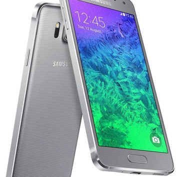 "Samsung Galaxy Alpha SM-G850F 32GB Silver (FACTORY UNLOCKED) 4.7"" Metal Frame"