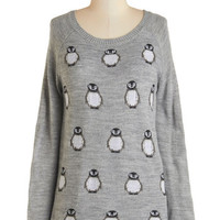 Jack by BB Dakota Critters Long Long Sleeve No Matter Waddle Sweater