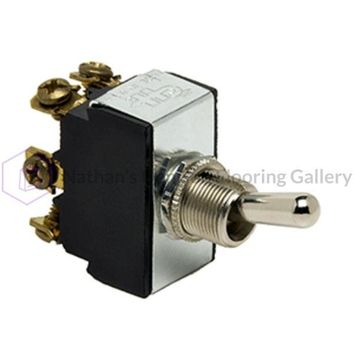 Cole Hersee Heavy Duty Toggle Switch DPDT On-Off-On 6 Screw