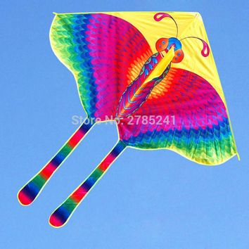 70 inch Butterfly Kite Children's Toy stunt Outdoor sports delta kites for kids with flying line