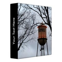 """Campbell CA Water Tower 1.5"""" Binder"""