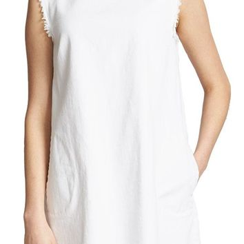 RD Style White Denim Shift Dress