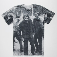 Rook X The Walking Dead Walkers Mens T-Shirt Heather  In Sizes
