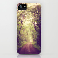 The Sound of Fog Coming Down iPhone & iPod Case by Olivia Joy StClaire