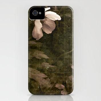 silent conversation iPhone Case by inourgardentoo | Society6