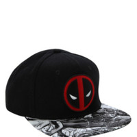Marvel Deadpool Snapback Ball Cap