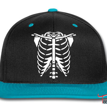 Skeleton Body Glow In The Dark Snapback