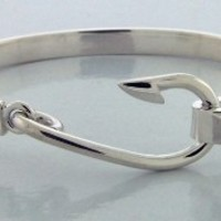 Sterling Silver Fisherman's Hook ($140)