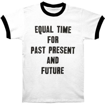 Neil Young Men's  Equal Time T-shirt White Rockabilia