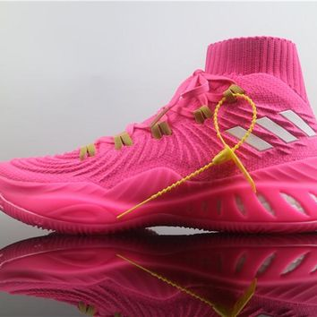 Adidas Crazy Explosive Boost 2017 Pink Basketball Shoe