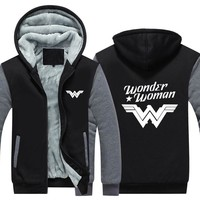 Wonder Woman Fleece Hoodie