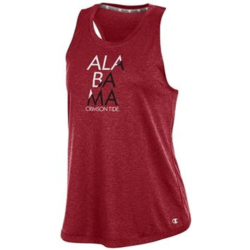 Alabama Crimson Tide Women's Epic Traverse Tank | BAMA Women's Tank Top | Alabama Women's Tank Top