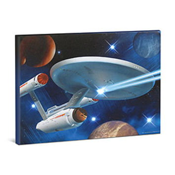 Star Trek Lighted Canvas Art