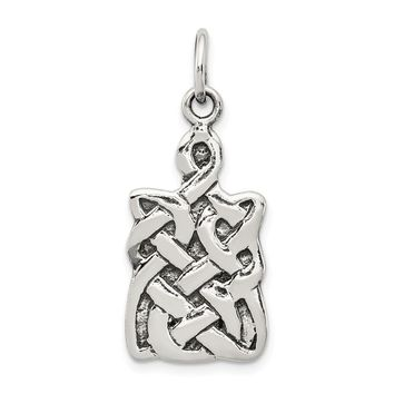 925 Sterling Silver Celtic Charm and Pendant