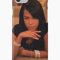 'Aaliyah' iPhone Case/Skin by zFlxcko