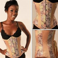 Ivory Floral Tapestry Timeless Trends Corsets