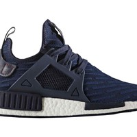 ADIDAS MEN'S BOOST NMD XR1 PK PRIMEKNIT NAVY RED BA7215 size 8-13