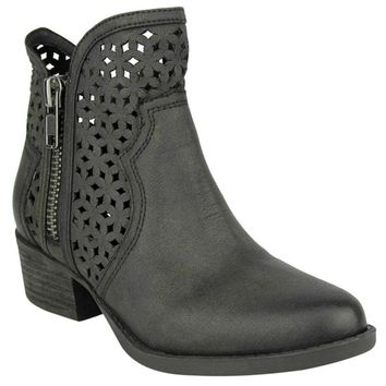 Etta Ankle Boot In Black