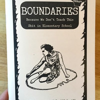 "Boundaries: Because We Don't Teach This Shit in Elementary School by Dr. Faith G. Harper- Plus Free ""Read Feminist Books"" Pen"
