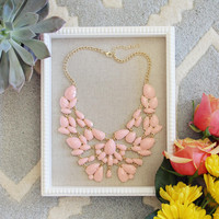 Sacred Stones Necklace in Pink