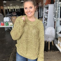 Frosty Nights Sweater - Gold