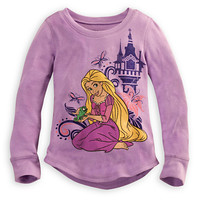 Rapunzel Thermal Tee for Girls