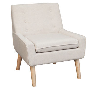 Mercury Row Reese Tufted Fabric Retro Side Chair