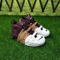 """Nike Air More Uptempo """"Tri-Color"""" Sneakers - Best Deal Online"""