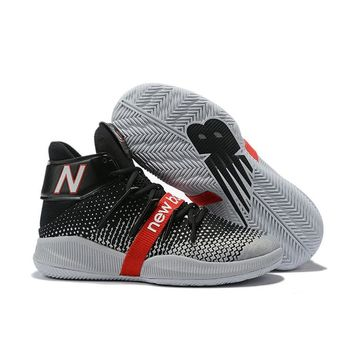 New Balance OMN1S Kawhi Leonard Black White Red Basketball Shoes- Best Deal Online