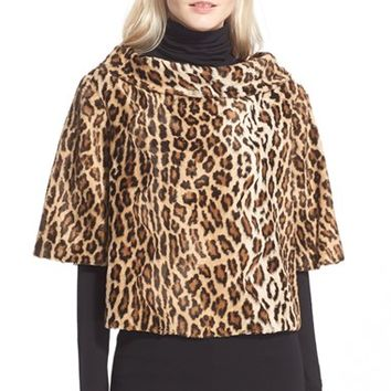 Women's Trina Turk 'Kailee' Faux Fur Top,