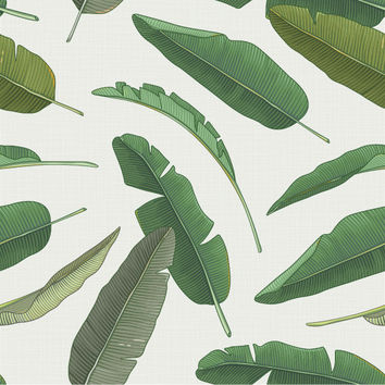 Banana Leaf Removable Wallpaper Decal