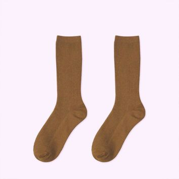 Essential Star Quality Socks | Brown