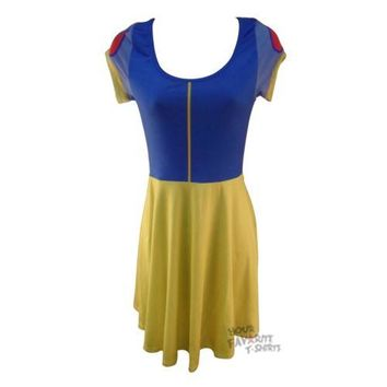 Snow White I Am Costume Disney Junior Skater Dress