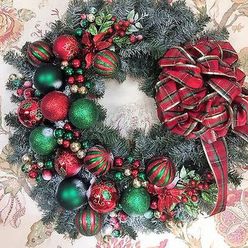 The Oily Essentials Custom Made Christmas Wreath