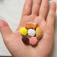 Mini Pan Dulce Platter Magnets