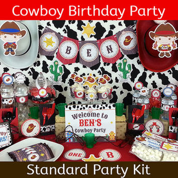 Cowboy Party / Cowboy Birthday / Cowgirl Party / Cowgirl Birthday