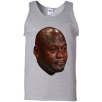 Crying Jordan Tank Top