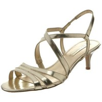 Bandolino Women`s Kindley Slingback Sandal,Gold,6 M US