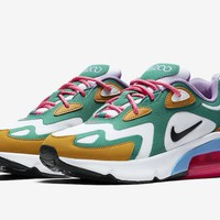 HCXX 19Aug 753 Nike Air Max 200 Mystic Green AT6175-300 Men Sneaker Fashion Casual Running Shoes Size40-46