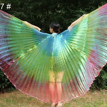 High Quality Egyptian Women Belly Dance Costume Isis Wings Cosplay