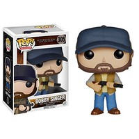 Funko POP TV: Supernatural - Bobby Singer Action Figure