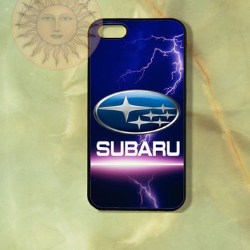 Subaru-iPhone 5 case, iphone 4s case, iphone 4 case, Samsung GS3 case-Silicone Rubber or Hard Plastic Case, Phone cover