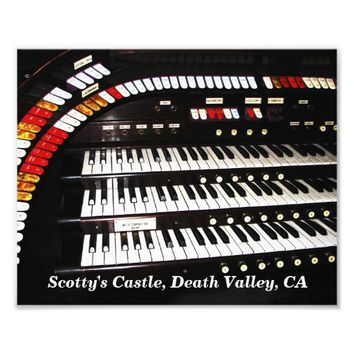 Antique Organ, Scotty's Castle Photo Print