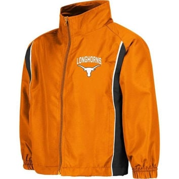 Texas Longhorns Preschool Burnt Orange Track Jacket - http://www.shareasale.com/m-pr.cfm?merchantID=42812&userID=1042934&productID=534106323 / Texas Longhorns