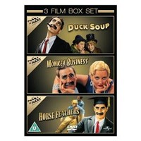 Marx Brothers: Monkey Business / Horse Feathers / Duck Soup (3 Discs)