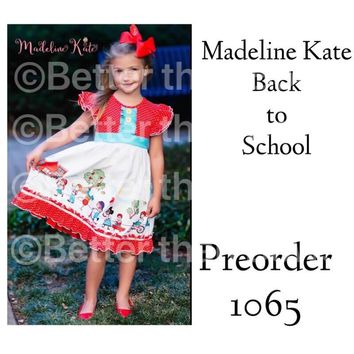 Madeline Kate Back to School Parade Dress!! RTS 1065