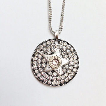 Bullet jewelry necklace