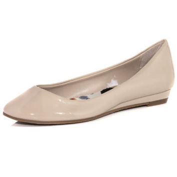 Nude round toe pumps - Flats - View All Shoes - Shoes - Dorothy Perkins United States